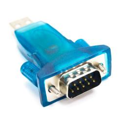 Adaptador compacto USB a RS232. Mod. 90399