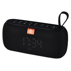 Altavoz Bluetooth Clock 10W Negro COOLSOUND. Mod. CS0218