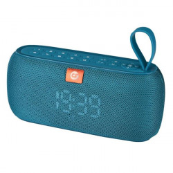 Altavoz Bluetooth Clock 10W azul COOLSOUND. Mod. CS0219