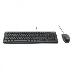 Kit teclado + ratón óptico USB 2.0 Logitech Mod. MK120