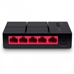 Switch 5 Puertos Gigabit Mercusys. Mod. MS105G