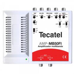 Central Amplificadora Multibanda 5 entradas LTE+FI. Mod. AMP-MB50FIL