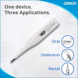 Termómetro digital Omron Basic. Mod. MC246E