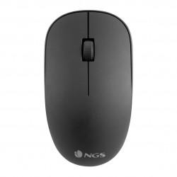 Ratón inalámbrico NGS óptico 1000DPI negro. Mod. EASYALPHA
