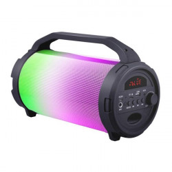 ALTAVOZ KARAOKE BLUETOOTH NEON PARTY 10W COOLSOUND. Mod. CS0200