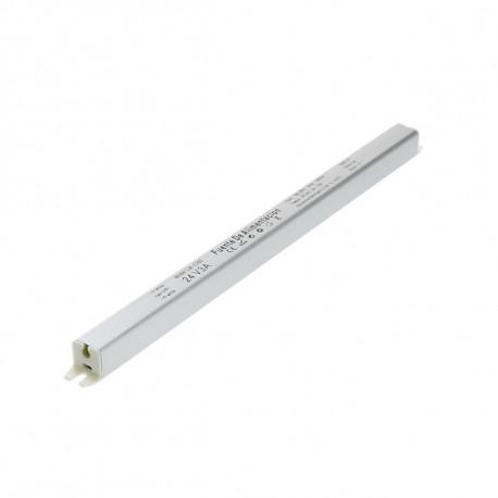 Fuente de alimentación para tiras LED 72W 24VDC (Especial para perfiles). Mod. LM2260