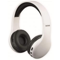Auricular diadema Bluetooth REC blanco Denver. Mod. BTH-240WH