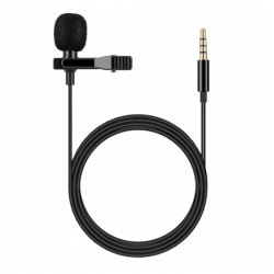 Micrófono omnidireccional universal jack 3.5mm. Mod. 54240