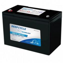 Baterías AGM 12V 115Ah C100 DEEP CYCLE LEOCH. Mod. LDC12-105