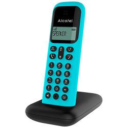 Teléfono inalámbrico Alcatel D285 color turquesa. Mod. D285TUR