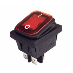 Interruptor bipolar faston Mod. 11.405.IL/NR/B10