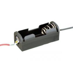 Portapilas para 1 pila A23 LR1 UM5 ( 1.5 - 12V). Mod. 33.067/1