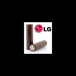Bateria recargable 18650 LG Li-Ion 3.7V 3000mAh. Mod. LG18650HG2