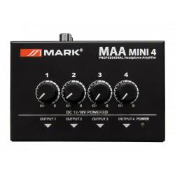 Amplificador auriculares 4 canales Mark. Mod. MAA MINI 4