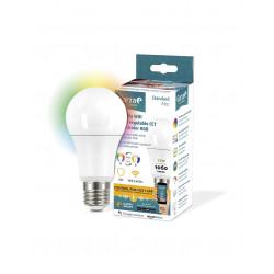 Bombilla LED Inteligente CCT de luz multicolor 12W E27 Garza Smart. Mod. 401274