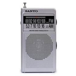 RADIO PORTATIL ALTAVOZ AM/FM SANYO. Mod. KS101