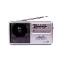 RADIO PORTATIL ALTAVOZ AM/FM SANYO. Mod. KS102