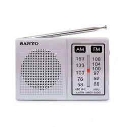 RADIO PORTATIL ALTAVOZ AM/FM SANYO. Mod. KS108