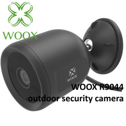 Cámara exterior wifi inteligente 1080p Woox. Mod. R9044