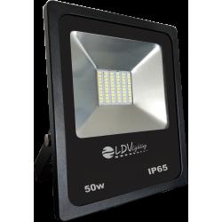 PROYECTOR LED 50W 12-24V 4750lm 6000K IP65 NEGRO. MOD. 56500112CW