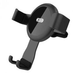 Soporte smartphone rejilla negro XO Gravity C31. Mod. XOC31
