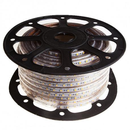 Tira LED 7.2W 220V 60p 3000K 12lm/led SMD5050 (precio metro). Mod. 505060WW