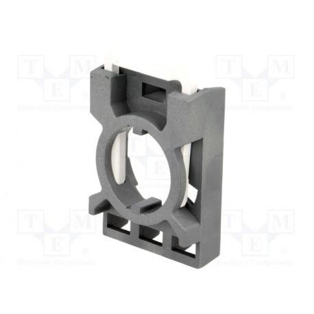 Elemento de fijación 22mm pulsador selector ABB. Mod. MCBH-00