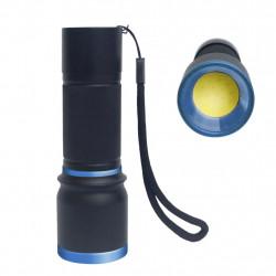 Linterna aluminio LED COB 5W 3XAAA. Mod. 10001034