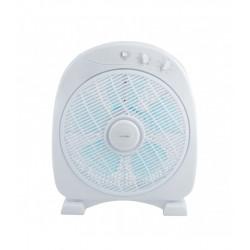 Ventilador box fan 50W blanco Universal Blue. Mod. ASTÚN 3050