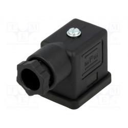 Conector electroválvula tipo B 11mm 3 pin Molex. Mod. 121023-0122