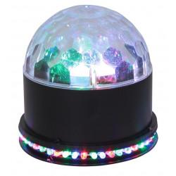 Efecto astro 3 LEDs RGB de 3W x, UFO: LED 48x 10mm Ø RGB. Mod. UFO-ASTRO-BL