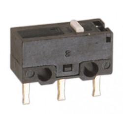 Microinterruptor sin palanca soldar 2A. Mod. 11.501