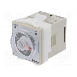 Relé temporizador 0.05 a 10 min 230VAC 2ctos. Mod. AT8PMN