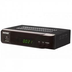 Receptor de satélite DVB-S2 c/ HDMI y USB DENVER. Mod. DVBS206HD