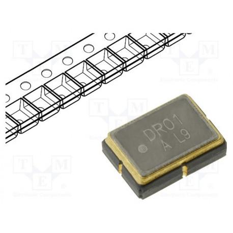 Resonador SAW 433,92MHz SMD 10VCC. Mod. SR433.92M-SMD53