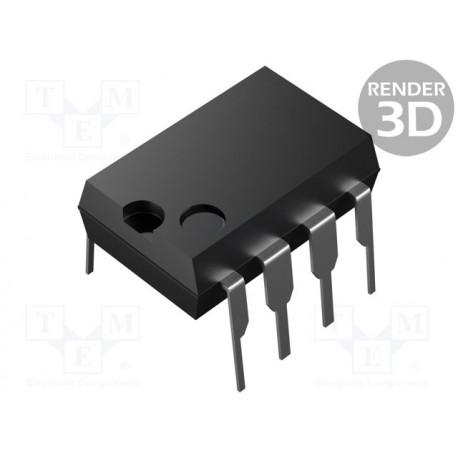 Circuito integrado amplificador operacional 2 Canales DIP8 3÷32/±1,5÷16VCC. Mod. BA10358