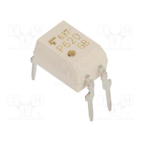 Optoacoplador THT 1 canal salida transistores 5kV. Mod. TLP620(GB.F)