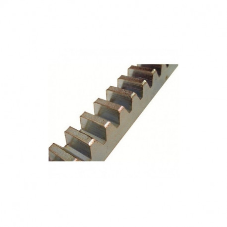 Cremallera cincada para soldar 2 metros 22x22mm. Mod. 01010104