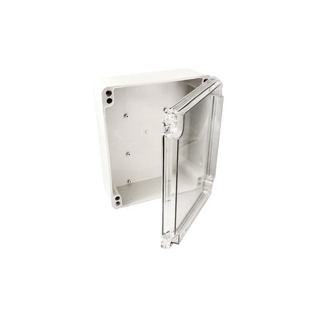 Caja estanca puerta transparente 300x265x130mm. Mod. 36.466