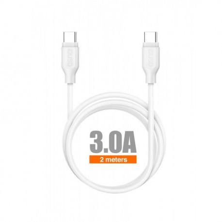 Conexión USB 3.0 tipo C macho macho 2 metros datos IDUSD. Mod. C73B