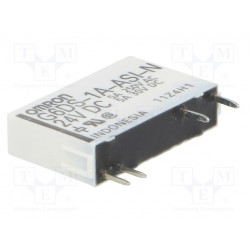 Relé electromagnético 24VDC Serie G6DS Omron. Mod. G6DS-1A-ASI-N