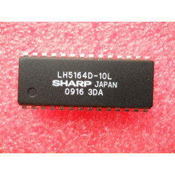 Ci Static RAM, Dynamic RAM, Video RAM Sharp DIP-28. Mod. LH5164D-10L