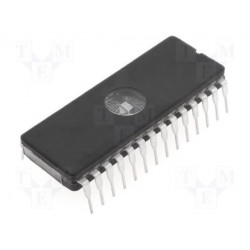 Memoria EEPROM borrable UV 256kbit, 32K x 8 bits, 120ns, CFDIP W 28 pines. Mod. M27C256B-12F1