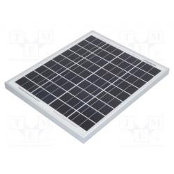 Panel solar 12V 20W 435x356x25mm. Mod. CLSM20P