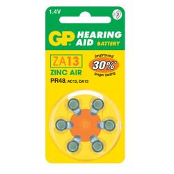 Baterías para audífonos GP ZA13 (PR48)