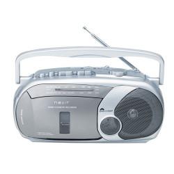 Nevir NVR-416 - Radio cassette grabador color gris