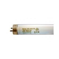 Tubo fluorescente T8, trifósforo. T8. 18W. Luz Blanco DIA (6500K) Electro DH Mod. 80.328/18/DIA