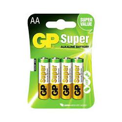 Pilas GP Super Alkaline LR6