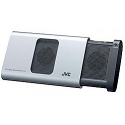 Altavoz portatil JVC para iPhone, iPod o iPad Plata