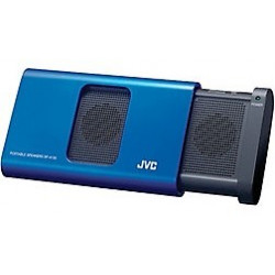 Altavoz portatil JVC para iPhone, iPod o iPad Azul